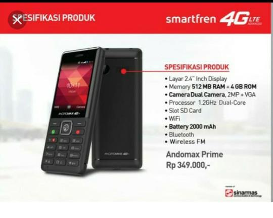 Jual Smartfren andromax prime - Kab  Tangerang - Dephink reload | Tokopedia