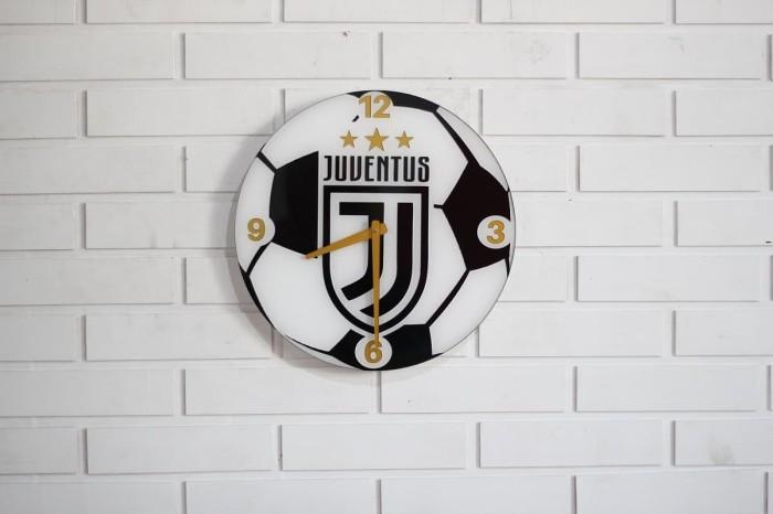 Dekorasi interior jam dinding logo juventus ruang tamu rumah e13c8d1951