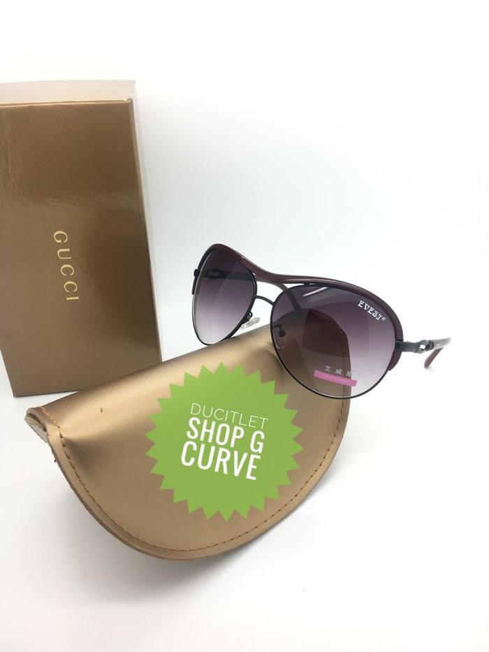 Segini Daftar Harga Frame Sunglasses Wanita Kacamata Cewek Lensa ... 2287e2d95c