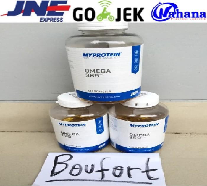 MyProtein Omega 3 6 9 Minyak Ikan Kapsul 990 mg 120 Softgels from UK