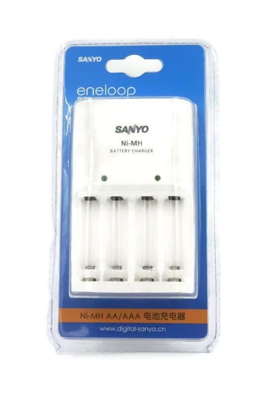 Basic Charger Sanyo Eneloop for AA and AAA Battery (Tanpa Baterai)