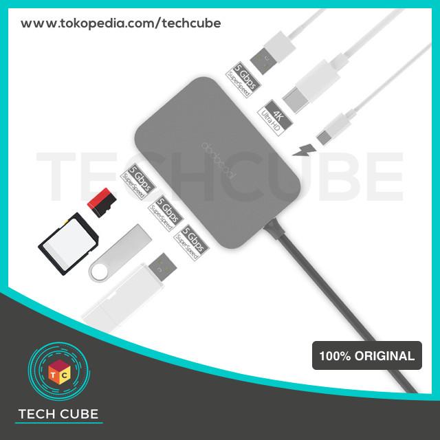 harga Dodocool usb type c hub fast multifunction ( ke ports usb 3.0 hdmi ) Tokopedia.com