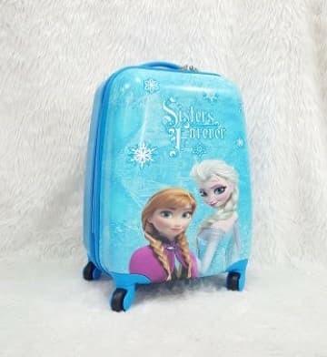 Tas Koper Travel Anak Fiber Frozen 4Roda