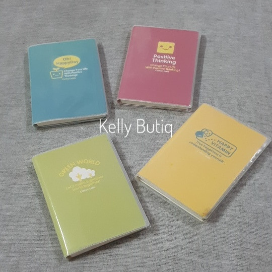 Jual Buku Tulis Bersampul Simpel Words Catatan Memo Diary Mini Notesbook Dki Jakarta Kellybutiq Tokopedia