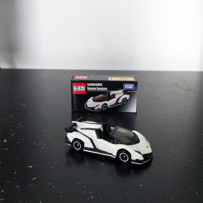 Jual Tomica Takara Tomy Lamborghini Veneno Roadster White Putih