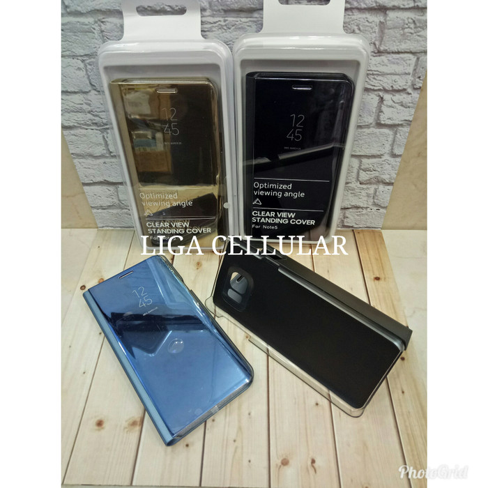 huge selection of 5b3f3 8076f Jual Samsung a6 plus 2018 clear view stand cover flip case samsung a6plus -  DKI Jakarta - LIGA CELLULAR | Tokopedia