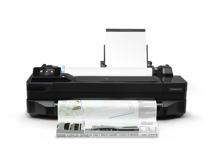 harga Hp plotter designjet t120 - 24in Tokopedia.com