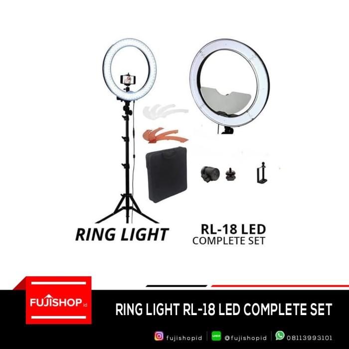 Ring light rl-18 led complete set