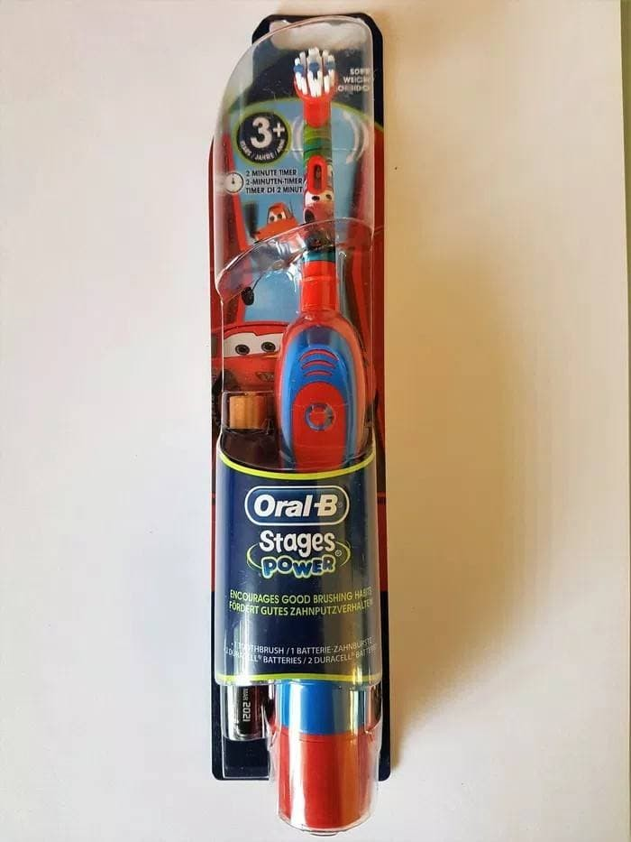 ORAL B KIDS FROZEN ELECTRIC TOOTHBRUSH BAYI   SIKAT GIGI ELEKTRIK ANAK cac789d915