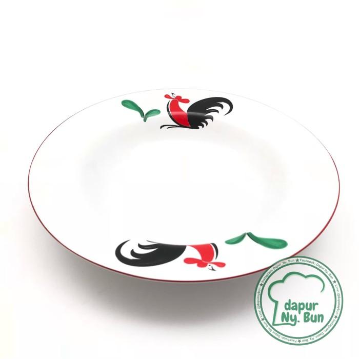 Foto Produk Piring Cekung Ayam Jago Seri 2 dari Dapur Ny.Bun