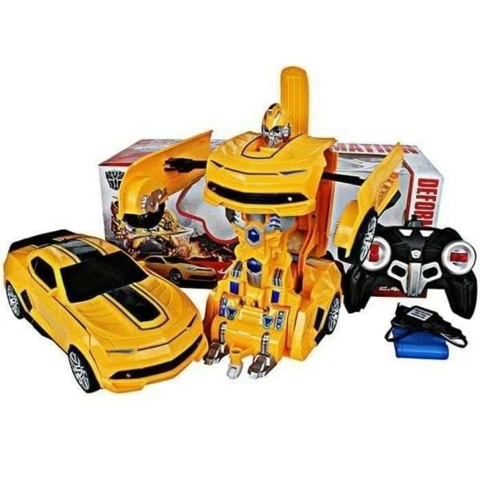 harga Mainan anak - rc deformation robot mobil remote control transform car Tokopedia.com
