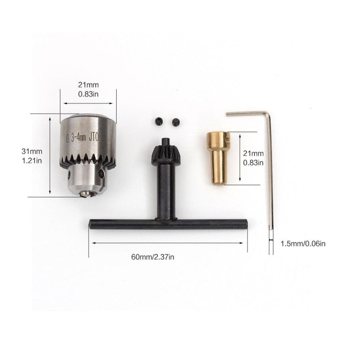 Jual Mini Hand Portable Handheld Drill Chuck - Kab  Sidoarjo - media  robotika | Tokopedia