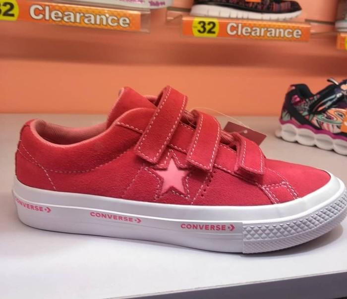 0bdf7b5c9a13 Jual Sepatu Converse One Star 3v Strap Ox pink 660038c Anak Kids ...