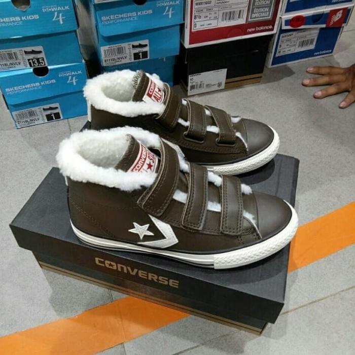 Jual Sepatu Converse Star Player EV 3V Mid Hot Cocoa 658153c Kids Anak Kota Sukabumi Contola Shop | Tokopedia