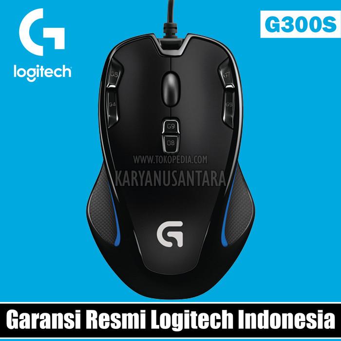 [Garansi Resmi] Logitech G300S Optical Gaming Mouse