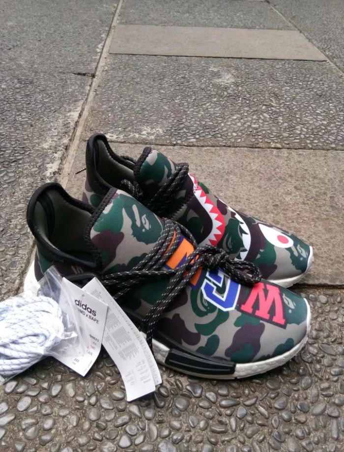 de17b99bcd013 Jual Adidas NMD Human Race x WGM Camo Bape Green Army - Kota ...
