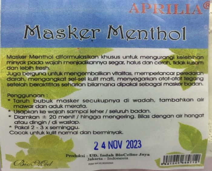 Aprilia Masker Menthol ( 1 Kg )