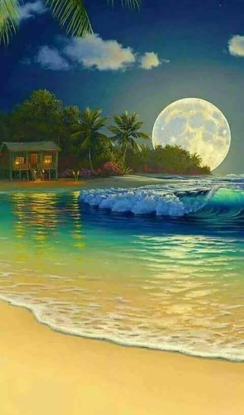 6100 Koleksi gambar pemandangan pantai kanvas HD Terbaik