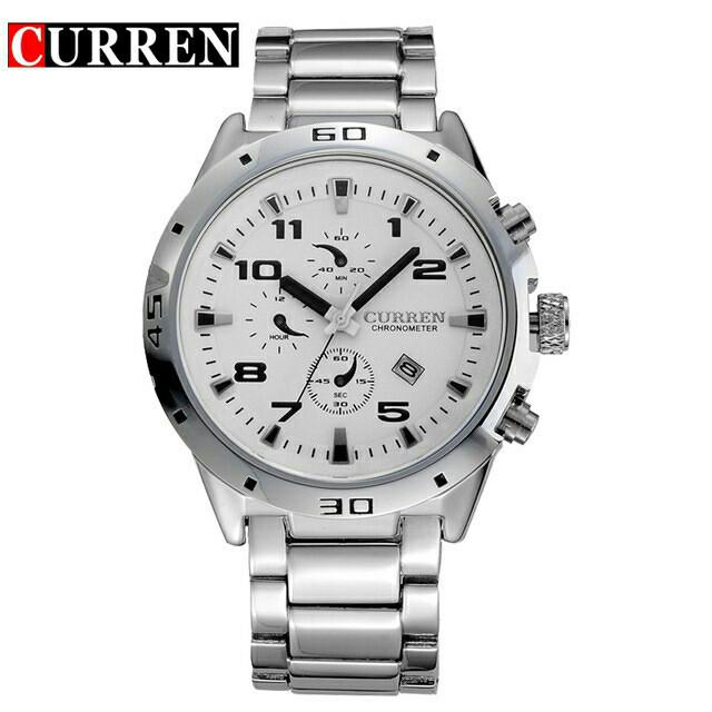 Jam Tangan Pria / CURREN 8021 / Curren Original / Termurah - Hitam