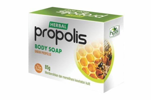 Sabun PROPOLIS Transparan - Produk HPAI untuk Jerawat