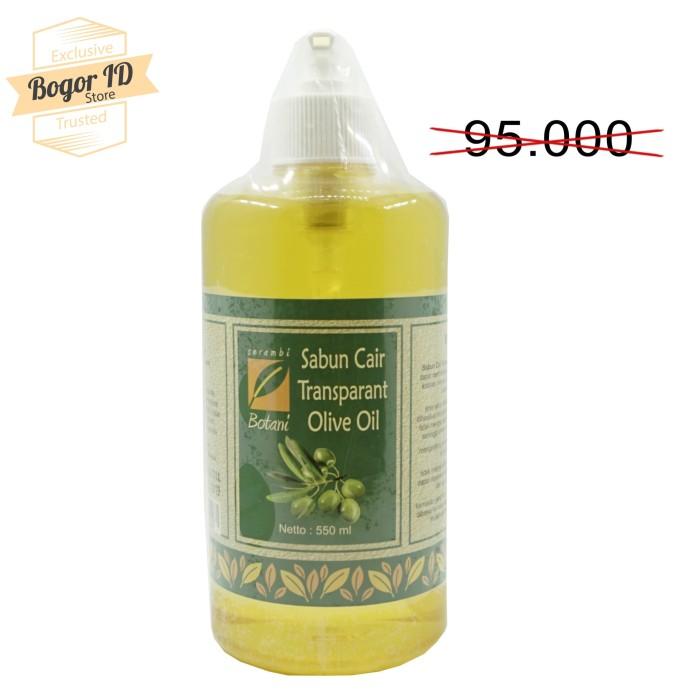 Sabun cair olive 550ml serambi botani healthy & natural products