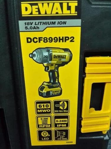 Jual Mesin Impact Wrench 12 Cordless Brushless18V Dewalt Dcf899Hp2 - Kab   Karawang - Franky Workshop | Tokopedia