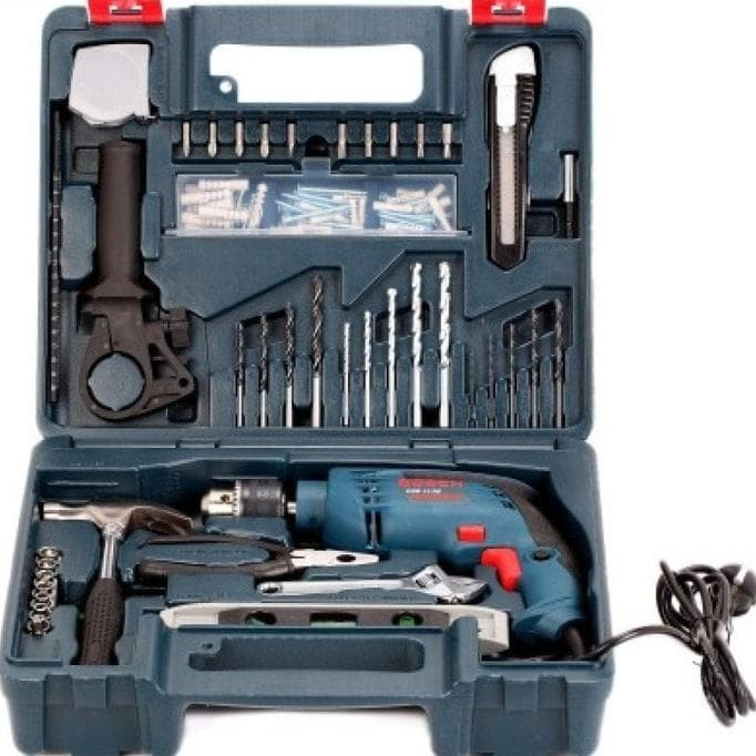 Jual Bosch Gsb 13 Re Impact Drill 13Mm Complete Set Bor Tembok 13 Mm - Kab   Karawang - Franky Workshop | Tokopedia