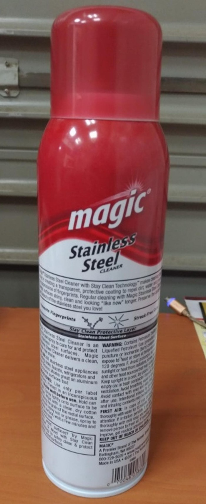 Jual Pembersih Logam Stainless Steel Magic Cleaner Homax 1860