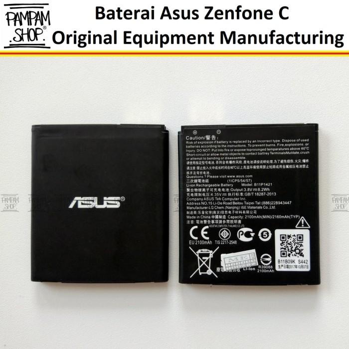 harga Baterai handphone asus zenfone c 4c zc451cg z007 original oem batre Tokopedia.com