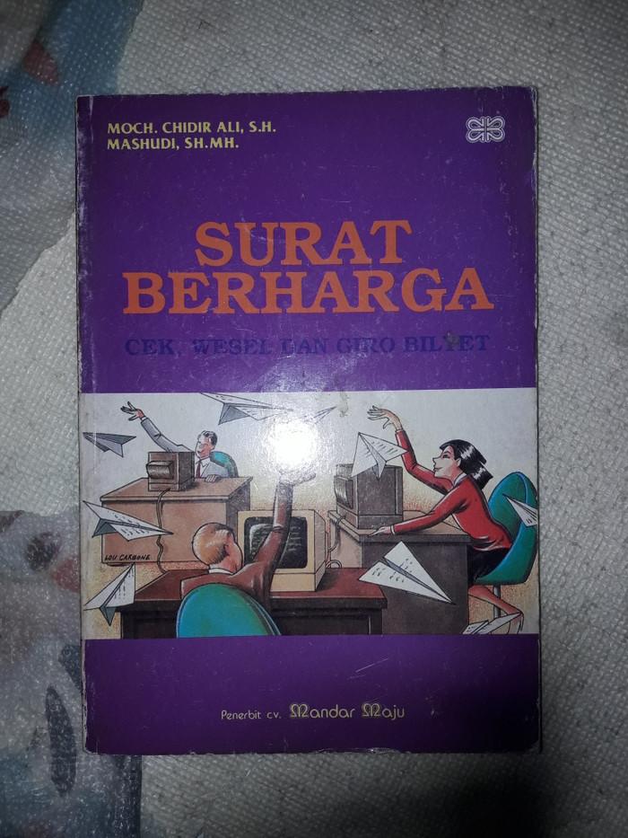 Jual Surat Berharga Cek Wesel Dan Giro Bilyet Jakarta Pusat Tb Pabona Tokopedia