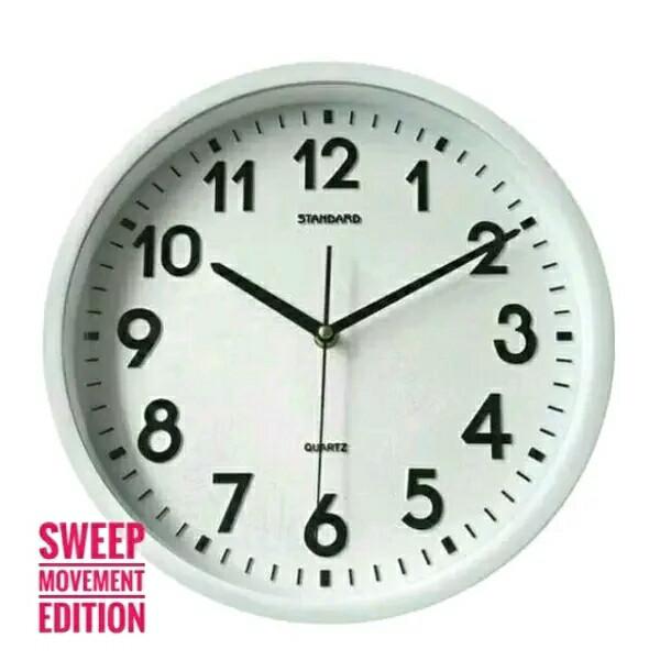 harga Jam dinding standard mesin sweep movement murah bagus awet  Tokopedia.com 1231c9a7b3