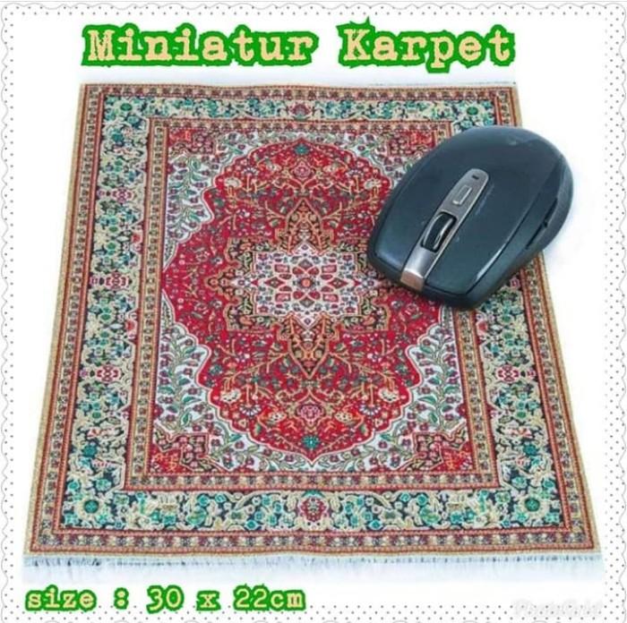 Karpet turki mini bisa mousepad juga