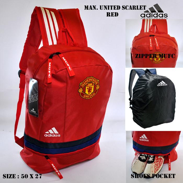Tas Klub Bola Slingbag Mufc Army Selempang Manchester United Slot Source · harga Tas ransel backpack bola manchester united scarlet merah tas sekolah ...