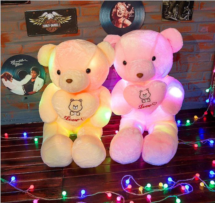 Jual Teddy Bear Dolls Glowing Lights LED  bf9a44dfcd