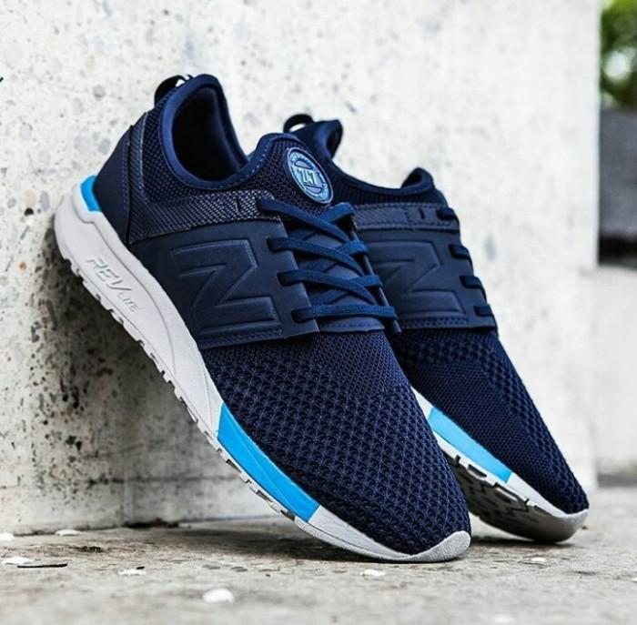 Jual Sepatu new Balance lifestyle kacamata sporty 247 PARAMOUNT BLUE - MRL - Jakarta Selatan - sarahaprilia   Tokopedia
