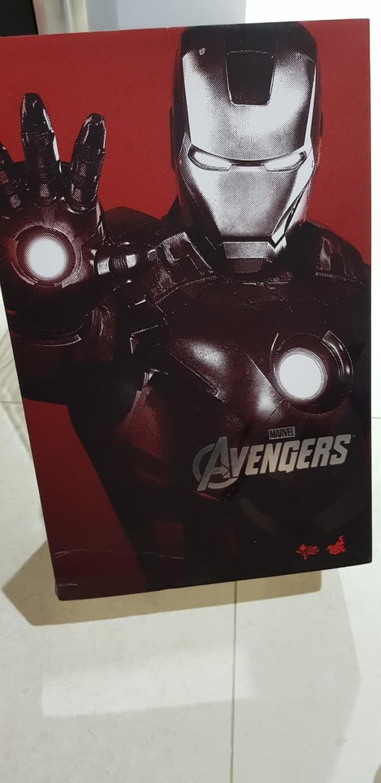 Jual Hot Toys Hottoys Iron Man Ironman Mark 7 Vii Kota Yogyakarta WPWStore