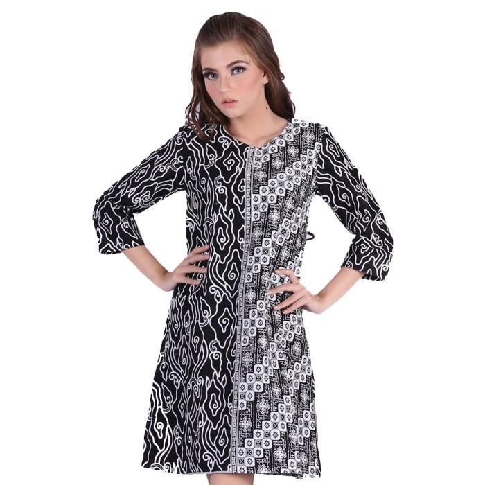 dress baju batik wanita murah rianty batik anora