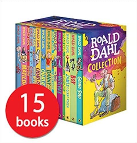 harga Roald dahl book boxed set - 15 paperback collection Tokopedia.com
