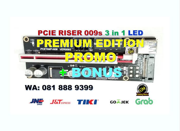 Foto Produk PCIE RISER PALING LAKU - 009S - PREMIUM EDITION dari Gudang Metro JKT