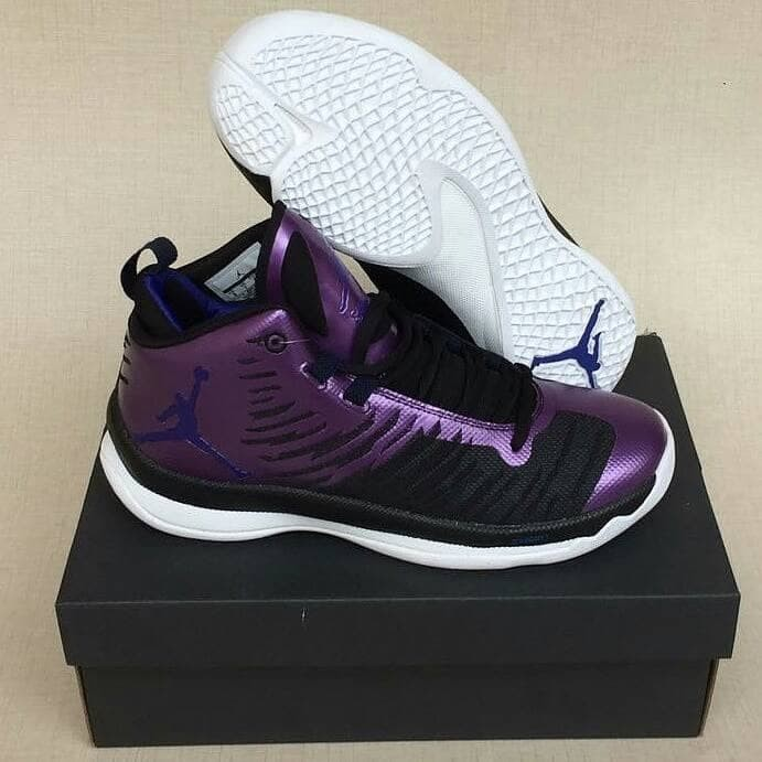 5f93235c20dc Jual sepatu basket air jordan superfly 5 black purple - DKI Jakarta ...