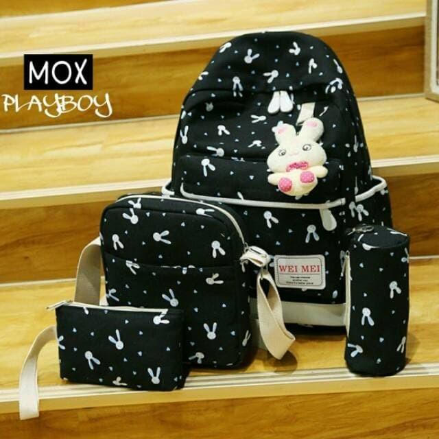 Jual PROMO Promo termurah terlaris Backpack playboy tas sekolah tas ... 2533a1f434