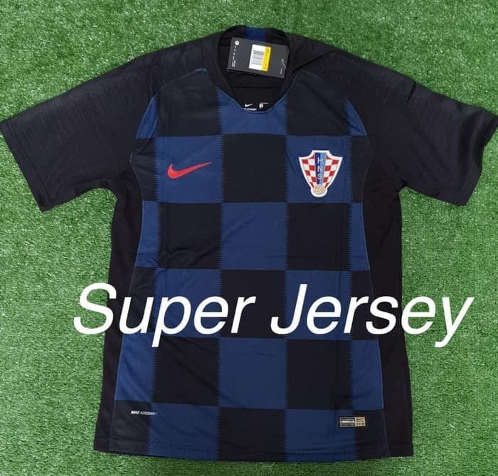 88414c51f Jersey Kroasia Away Grade ORI KaosJerseyBola WorldCup Piala Dunia 2018