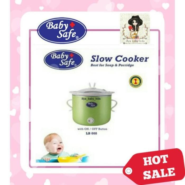 [PROMO] Baby Safe Slow Cooker LB007 LB008 LB009 | LB007 LB008 LB009 |