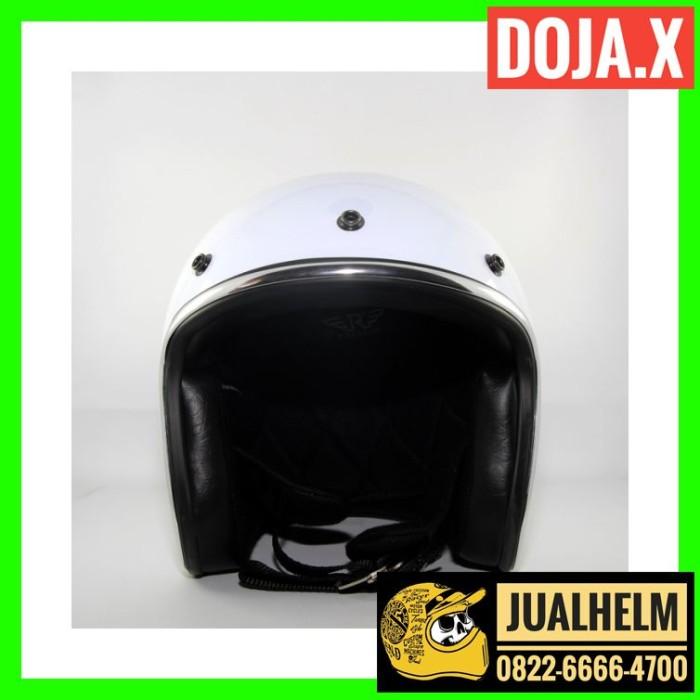Helm Retro DOJA X WHITE (Helm Classic / Helm Bogo / Helm Vespa) 1