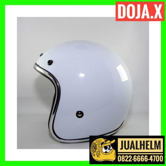 Helm Retro DOJA X WHITE (Helm Classic / Helm Bogo / Helm Vespa) 2