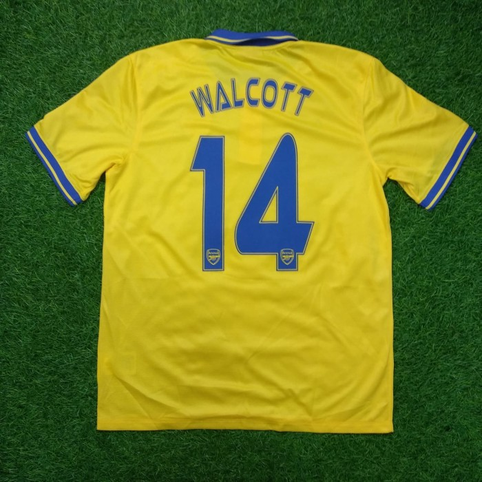 fc89d35aac6 Jual Original Jersey Arsenal 2013-14 Away Walcott Baju Bola Asli ...