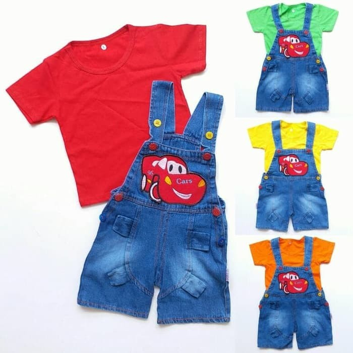 Katalog Celana Overall Jeans Anak Hargano.com