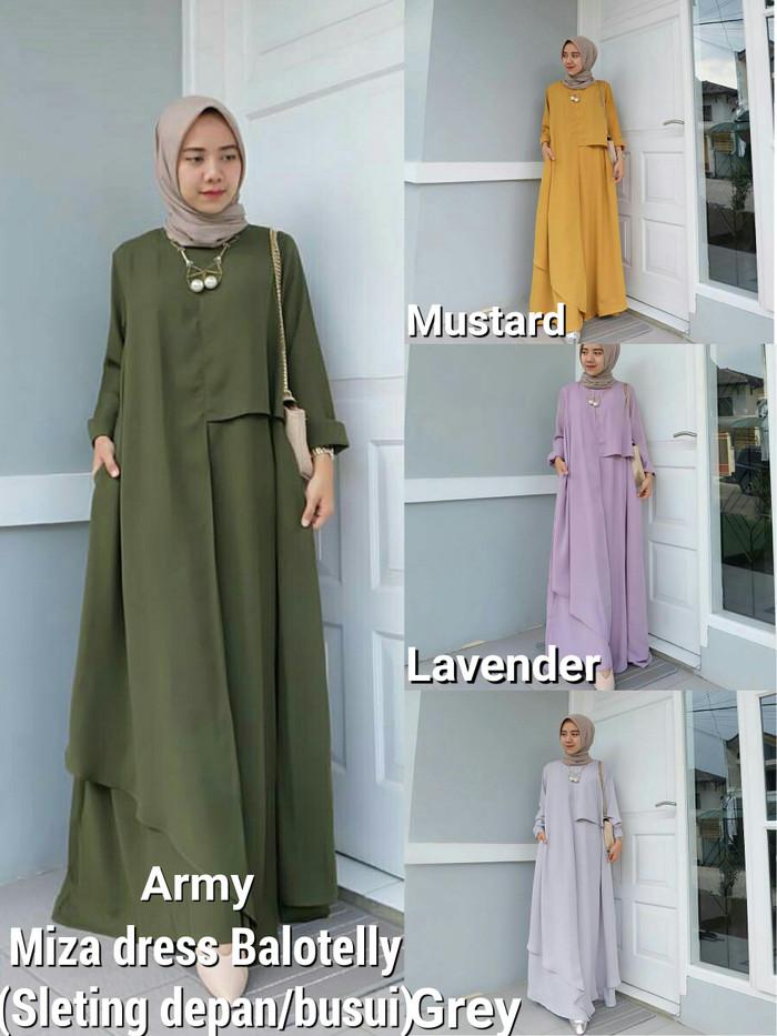 Jual Miza Dress Baju Muslim Terbaru Gamis Busu Dress Gamis Terbaru Palmerah Senar Mudah Tenggelam Tokopedia