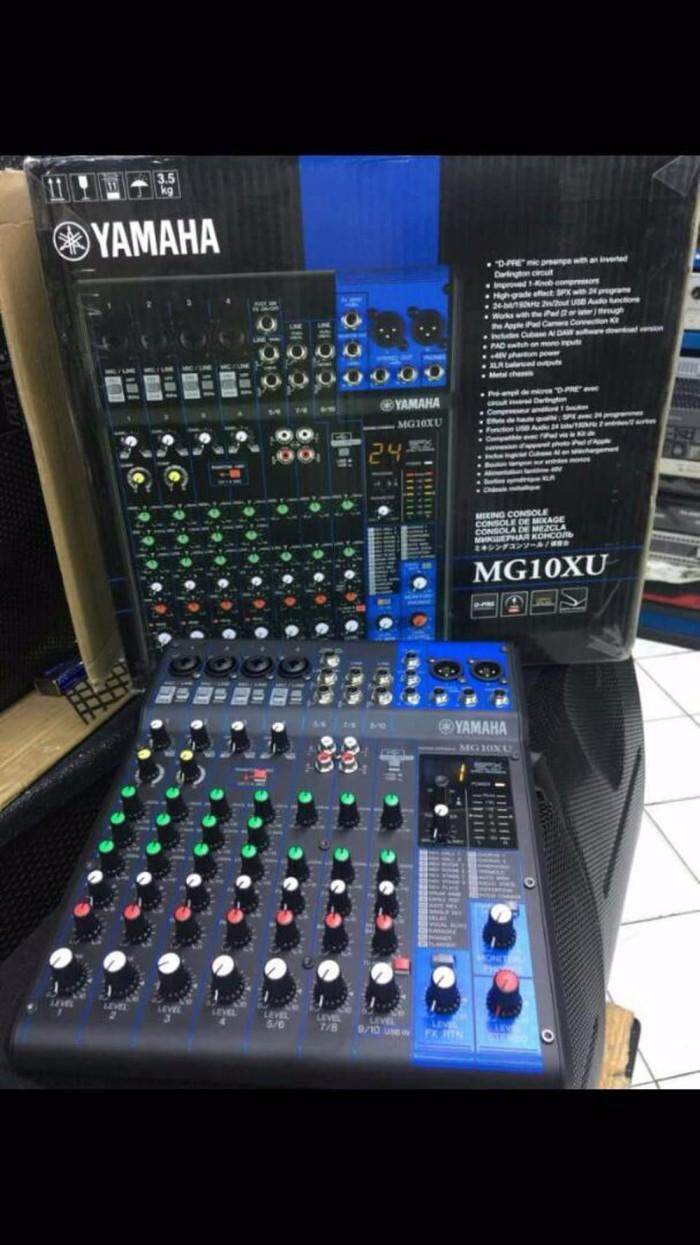 Jual Audio Mixer Yamaha Mg10xu Promo Lengkapshop1 Tokopedia