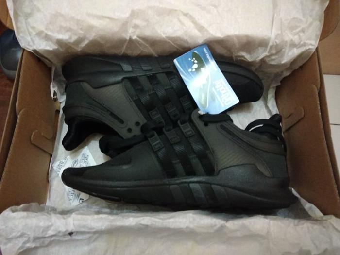 new product a07f3 6d1f8 Jual Adidas EQT Support ADV Triple Black | BNIB Original Ori | CP8928 -  Jakarta Barat - 25kixx | Tokopedia